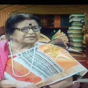 गयी झुलनी टूट की लेखिका -डॉ . उषाकिरण खान