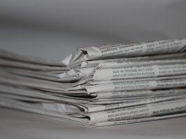 अखबारों के पन्नों पर